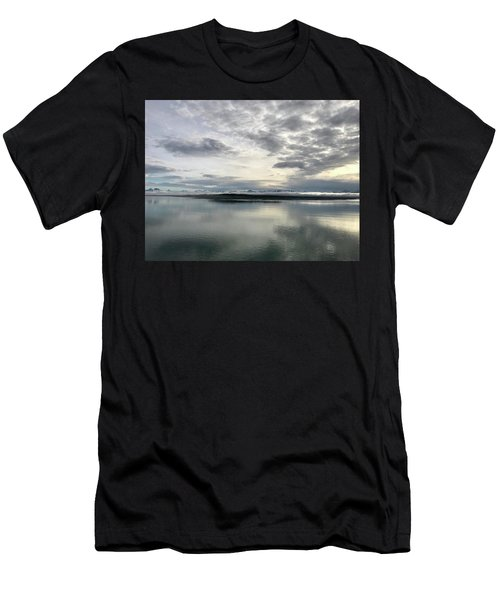Alaskan Sunrise Men's T-Shirt (Athletic Fit)