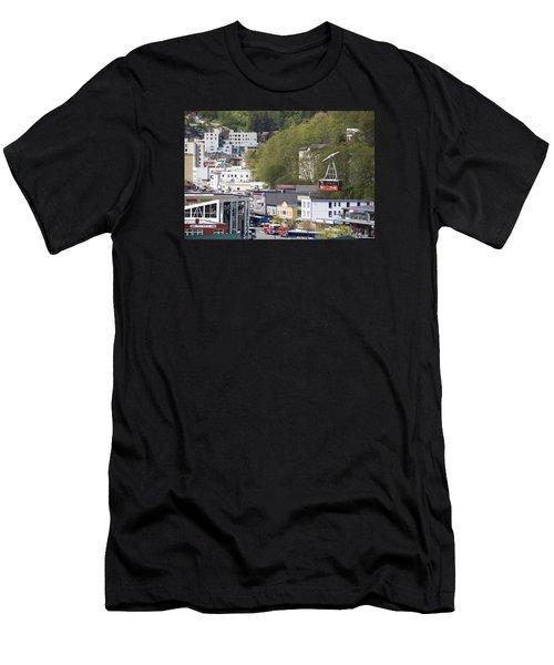 Alaskan Transportation Men's T-Shirt (Athletic Fit)