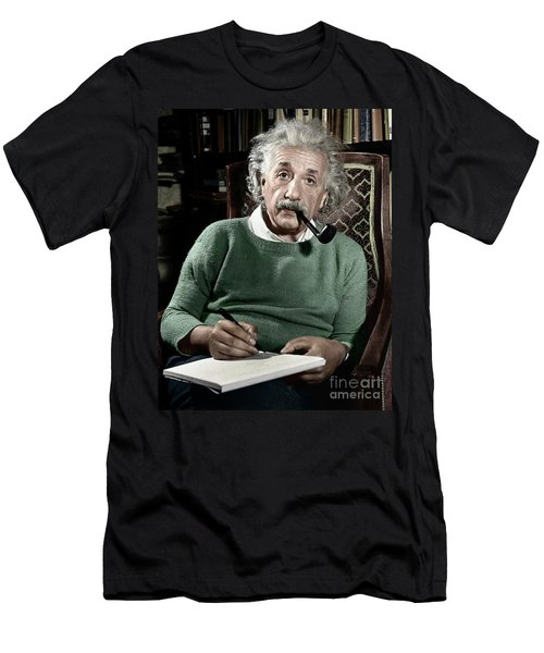 Albert Einstein Men's T-Shirt (Athletic Fit)