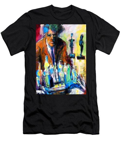 Alberto Men's T-Shirt (Slim Fit) by Les Leffingwell