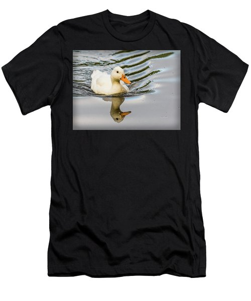 Albino Mallard Men's T-Shirt (Athletic Fit)