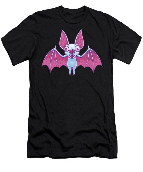 Albino Vampire Bat Men's T-Shirt (Athletic Fit)