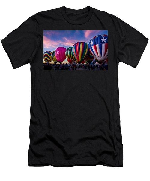 Albuquerque Hot Air Balloon Fiesta Men's T-Shirt (Athletic Fit)