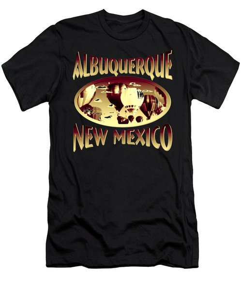 Albuquerque New Mexico Design Men's T-Shirt (Athletic Fit)