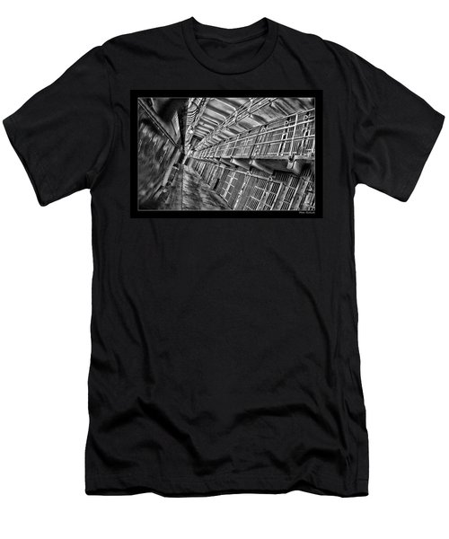 Alcatraz The Cells Men's T-Shirt (Athletic Fit)