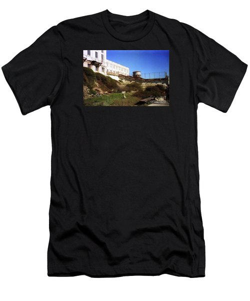Alcatraz Water Tank Prison  Men's T-Shirt (Athletic Fit)