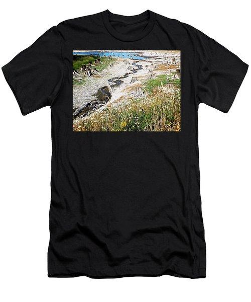 Alder Lake Stumps Men's T-Shirt (Athletic Fit)