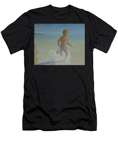 Alex On The Beach Men's T-Shirt (Athletic Fit)