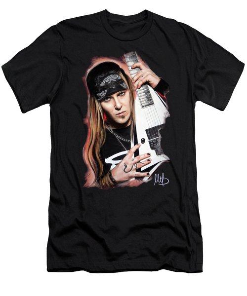 Alexi Laiho Men's T-Shirt (Athletic Fit)