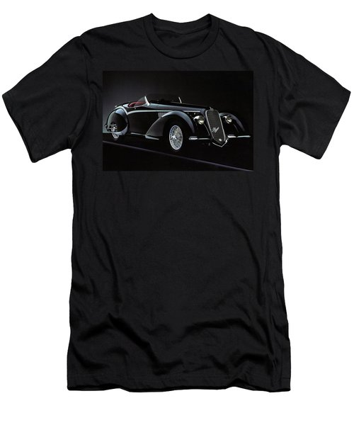 Alfa Romeo 8c 2900 Mercedes Benz Men's T-Shirt (Athletic Fit)