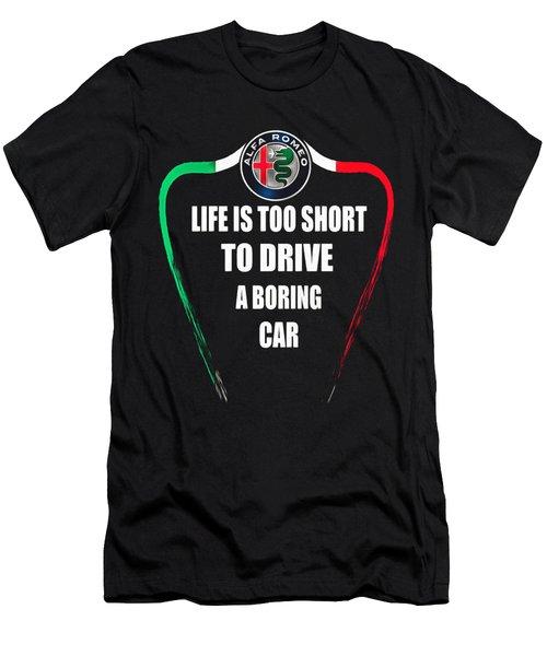 Alfa Romeo Maserati Men's T-Shirt (Athletic Fit)
