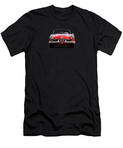 Alfa Romeo Spider Men's T-Shirt (Athletic Fit)