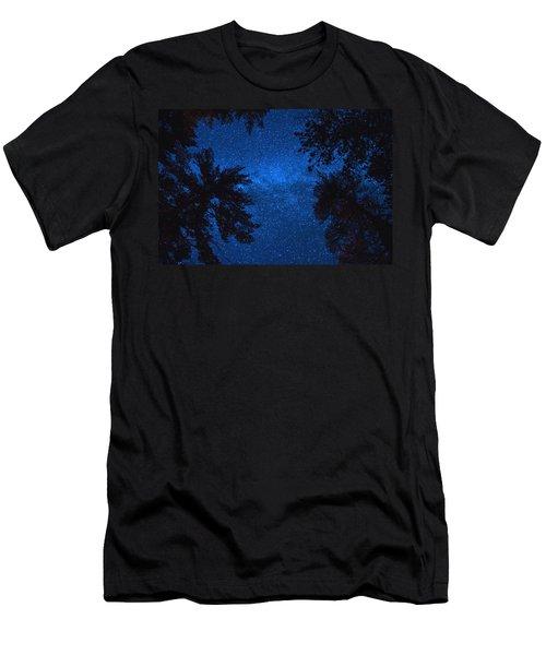 Algonquin Skies Men's T-Shirt (Athletic Fit)