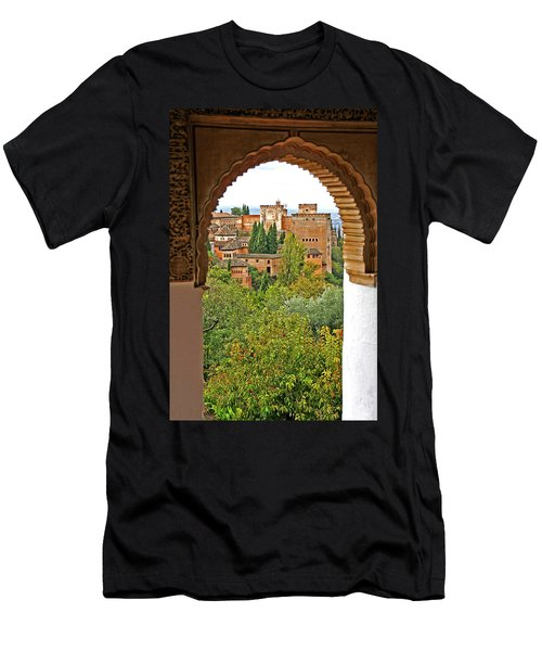 Alhambra - Granada, Spain Men's T-Shirt (Athletic Fit)