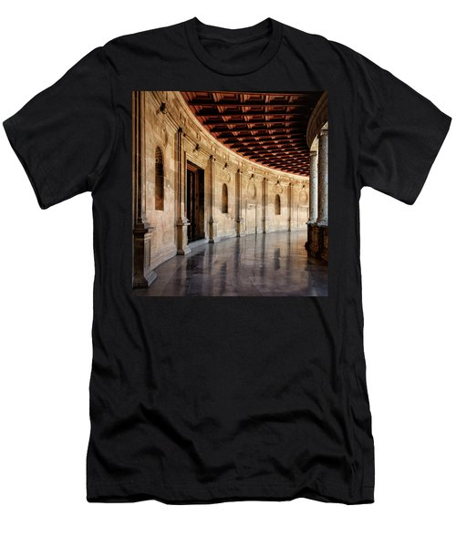Alhambra Reflections Men's T-Shirt (Slim Fit) by Marion McCristall