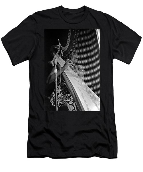Alice Coltrane On Harp Men's T-Shirt (Athletic Fit)