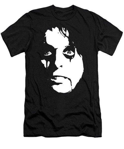 Alice Cooper Pop Art Men's T-Shirt (Athletic Fit)