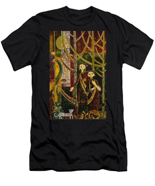 Alice In Wonderland  Men's T-Shirt (Athletic Fit)
