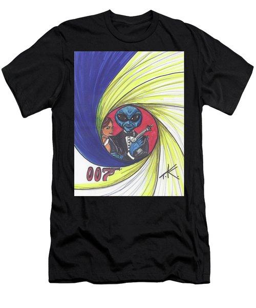 alien Bond Men's T-Shirt (Athletic Fit)