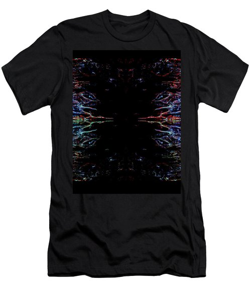 Alien Face Off Men's T-Shirt (Slim Fit) by Samantha Thome