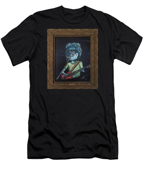 Alien Jerry Garcia Men's T-Shirt (Athletic Fit)