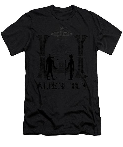 Alien King Tut Men's T-Shirt (Athletic Fit)