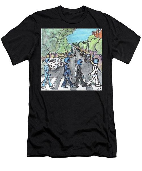 Alien Road Men's T-Shirt (Athletic Fit)