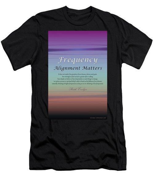 Alignment Matters Men's T-Shirt (Athletic Fit)