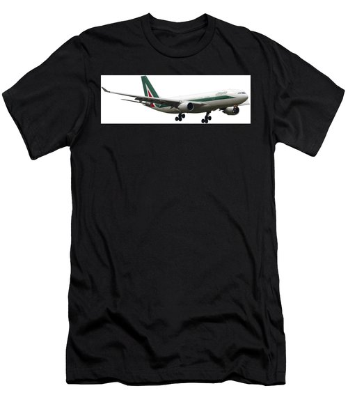 Alitalia, Airbus A330-202. Men's T-Shirt (Athletic Fit)
