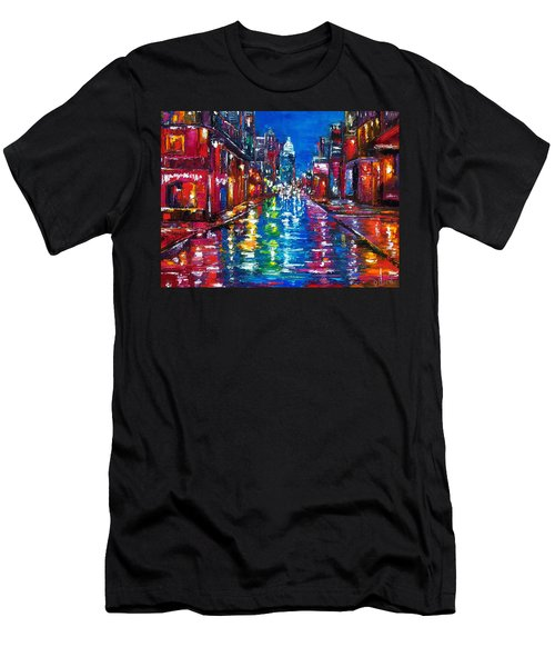 All Night Long Men's T-Shirt (Athletic Fit)