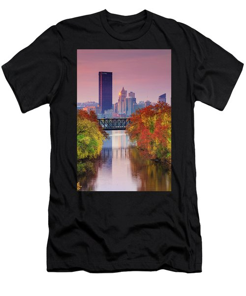 All Pittsburgh Pink  Men's T-Shirt (Athletic Fit)