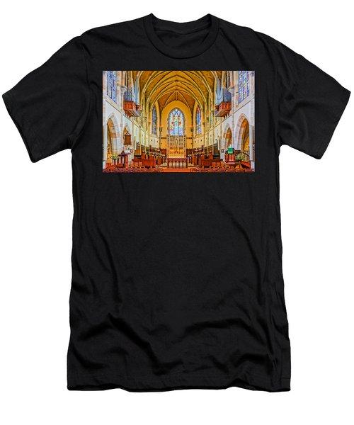 All Saints Chapel, Interior Men's T-Shirt (Athletic Fit)