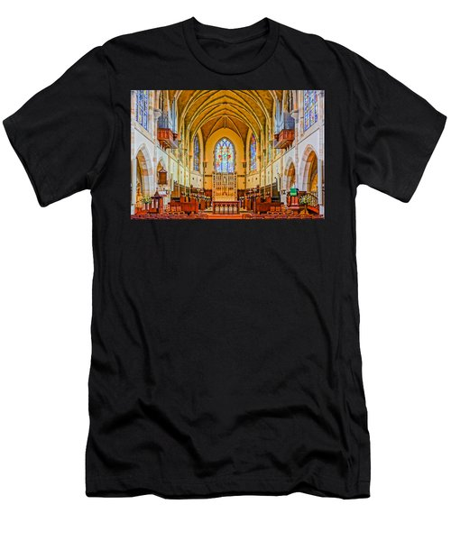 All Saints Chapel, Interior Men's T-Shirt (Athletic Fit)