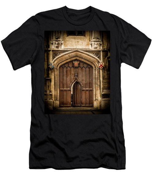 Oxford, England - All Souls Gate Men's T-Shirt (Athletic Fit)