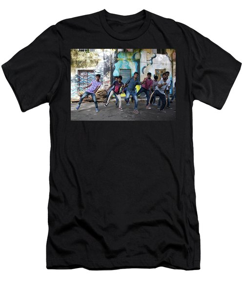 All The Moves Men's T-Shirt (Athletic Fit)
