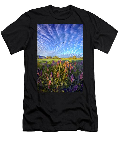 All Things Created And Held Together Men's T-Shirt (Athletic Fit)