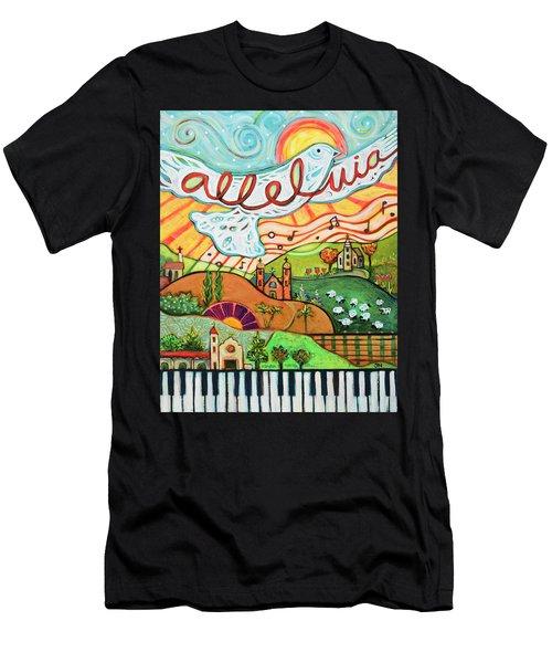 Alleluia Men's T-Shirt (Athletic Fit)