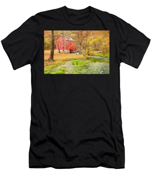 Men's T-Shirt (Athletic Fit) featuring the photograph Alley Spring by Marla Craven