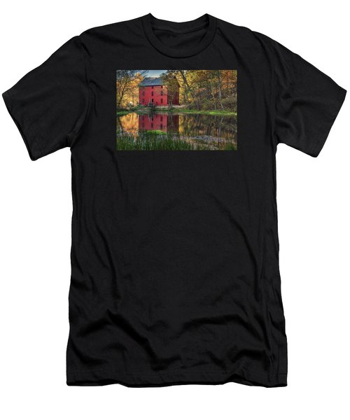 Alley Spring Mill Fall Mo Dsc09240 Men's T-Shirt (Athletic Fit)