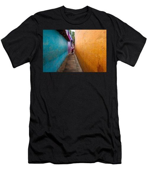 Alleyway Men's T-Shirt (Athletic Fit)