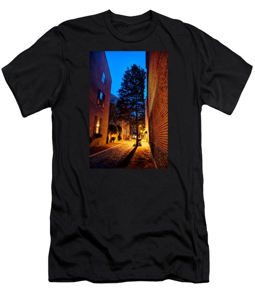 Alleyway Men's T-Shirt (Athletic Fit)