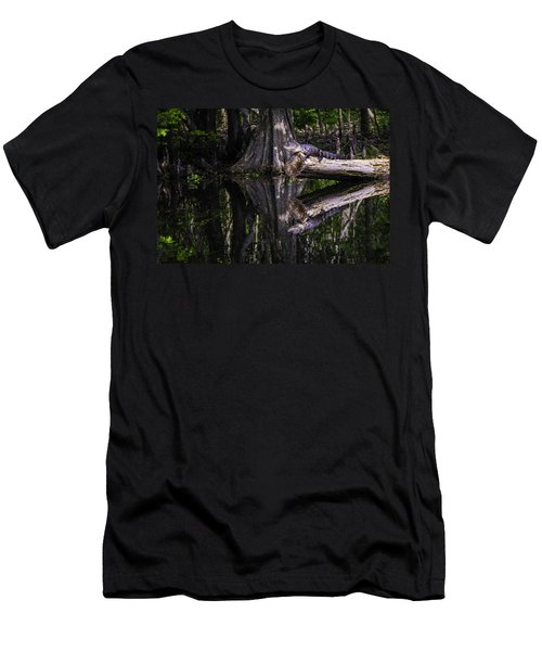 Alligators The Hunt, New Orleans, Louisiana Men's T-Shirt (Athletic Fit)