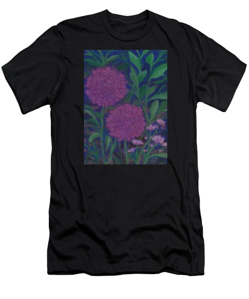 Allium And Geranium Men's T-Shirt (Athletic Fit)