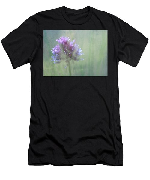 Allium Impressionism Men's T-Shirt (Athletic Fit)