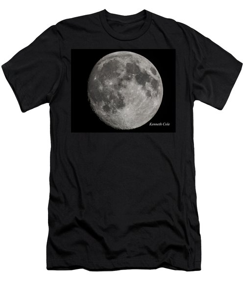 Almost Full Moon Men's T-Shirt (Athletic Fit)