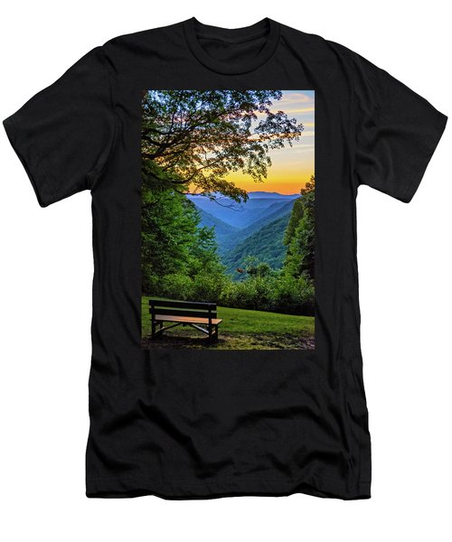 Almost Heaven - West Virginia 3 Men's T-Shirt (Athletic Fit)