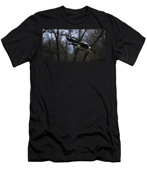Men's T-Shirt (Slim Fit) featuring the photograph Almost Home by Rowana Ray
