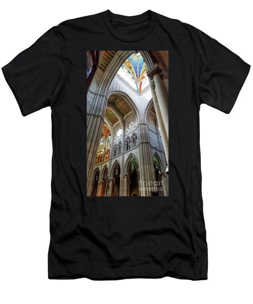 Almudena Cathedral Interior In Madrid Men's T-Shirt (Athletic Fit)