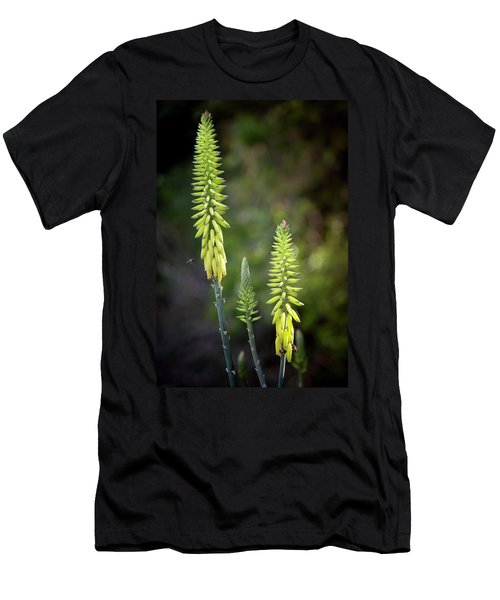 Men's T-Shirt (Athletic Fit) featuring the photograph Aloe Vera Blooms by Adam Romanowicz