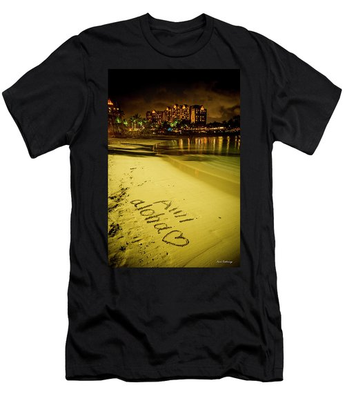Ami Aloha Aulani Disney Resort And Spa Hawaii Collection Art Men's T-Shirt (Athletic Fit)